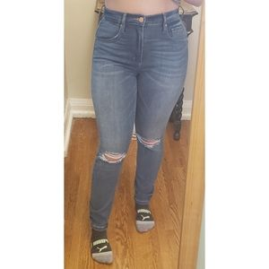 Garage Ultra High Rise Jeans, size 5